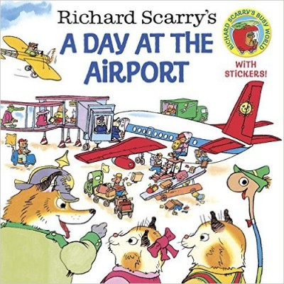 Richard Scarry's A Day at the Airport (Pictureback(R)) (Paperback)