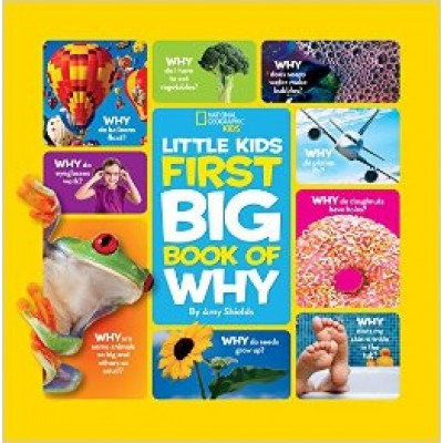 National Geographic Little Kids First Big Book of Why (National Geographic Little Kids First Big Books) (Hardcover)